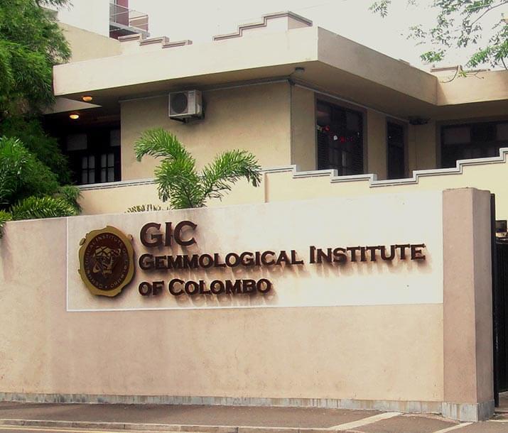 Gemmological Institute of Colombo GIC,Sri lanka