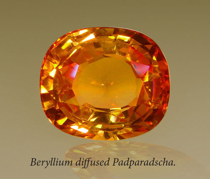 Detection of Beriliyum Treated Stone GIC,Sri lanka